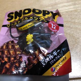 スヌーピー(SNOOPY)のウッドストック SNOOPY☆ワールドグルメツアー☆ストラップ(ノベルティグッズ)