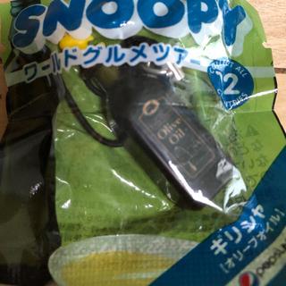 スヌーピー(SNOOPY)のウッドストック SNOOPY☆ワールドグルメツアー☆ストラップ スヌーピー(ノベルティグッズ)