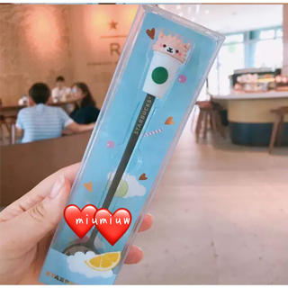 スターバックスコーヒー(Starbucks Coffee)の💗プレミア!!激レア品💗【中国🇨🇳スタバ】①羊ちゃんスプーン(その他)