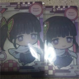 鬼滅の刃 栗花落カナヲセット カード(キャラクターグッズ)