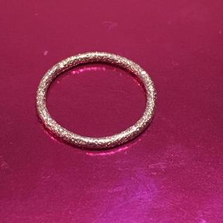 アッシュペーフランス(H.P.FRANCE)のCAROLINA BUCCI キャロリーナブッチ k18PGリング(リング(指輪))