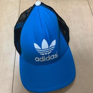 アディダス(adidas)のアディダス adidas 帽子 キャップ メンズ レディース ブルー(キャップ)