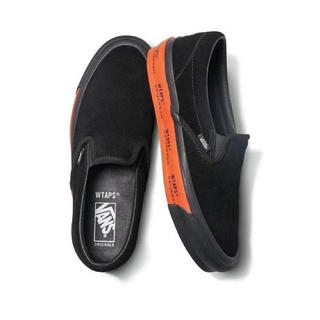 ダブルタップス(W)taps)のWTAPS × VANS OG CLASSIC SLIP-ON LX BLACK(スニーカー)