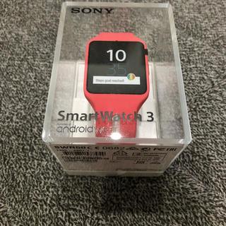ソニー(SONY)のSONY SmartWatch3 SWR50(腕時計(デジタル))