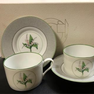 クリスチャンディオール(Christian Dior)の新品未使用ディオールのカップ&ソーサー2客set箱付き(食器)