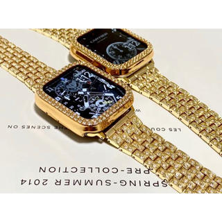 アップルウォッチダイヤカバーベルトセット 駒調整器付き 画像処理なし 上等品(腕時計(デジタル))