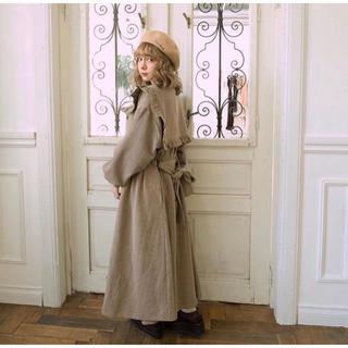 リリーブラウン(Lily Brown)のtreatürself sailor antiques check coat(トレンチコート)