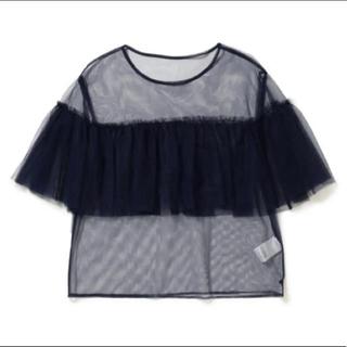 レイビームス(Ray BEAMS)のリトグリ manaka着用 レイビームス チュールトップス(Tシャツ(半袖/袖なし))
