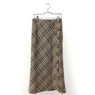 バーバリー(BURBERRY)のBurberry  秋冬用スカート  サイズ36(ロングスカート)