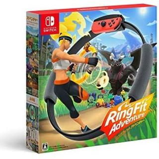 ニンテンドースイッチ(Nintendo Switch)の早い者勝ち リングフィットアドベンチャー Switch(家庭用ゲームソフト)