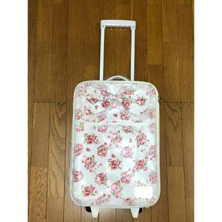 リズリサ(LIZ LISA)の最終お値引き!!LIZ LISAキャリーバッグ白花柄(スーツケース/キャリーバッグ)