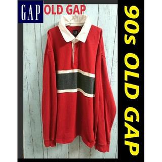 ギャップ(GAP)の90s OLD GAP オールド ギャップ ビッグサイズ ラガーシャツ(ポロシャツ)