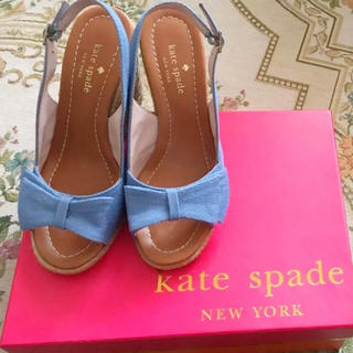 ケイトスペードニューヨーク(kate spade new york)のケイトスペード リボンサンダル(サンダル)