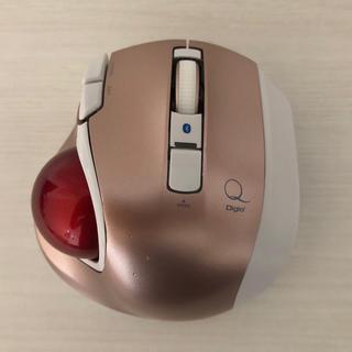 MUS-TBLF134P dgio2 静音 トラックボールマウス(PC周辺機器)