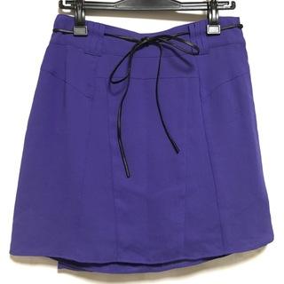 ルシェルブルー(LE CIEL BLEU)のルシェルブルー ミニスカート サイズ40 M(ミニスカート)