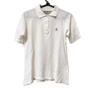 マンシングウェア(Munsingwear)のマンシングウェア 半袖ポロシャツ 白(ポロシャツ)