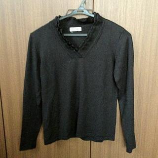 アルファキュービック(ALPHA CUBIC)のALPHA CUBIC 黒セーター M(ニット/セーター)