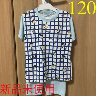 サンリオ(サンリオ)の☆新品未使用☆  ドラえもん 半袖パジャマ 120(パジャマ)