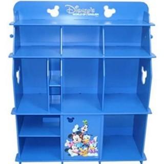 ディズニー(Disney)の直接引き渡し可能 ディズニー英語システム ブックケース(青)(棚/ラック/タンス)