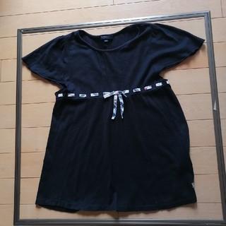 バーバリーブラックレーベル(BURBERRY BLACK LABEL)のバーバリー 黒 Tシャツ 150(Tシャツ/カットソー)