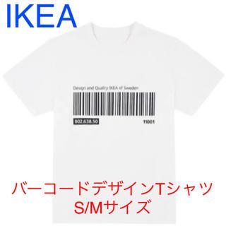 イケア(IKEA)のIKEA バーコードデザインTシャツ S/Mサイズ(Tシャツ(半袖/袖なし))