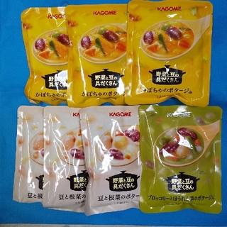 カゴメ(KAGOME)の専用 KAGOME 野菜と豆の具だくさんスープ(レトルト食品)
