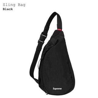 シュプリーム(Supreme)のSupreme Sling Bag Black(ショルダーバッグ)