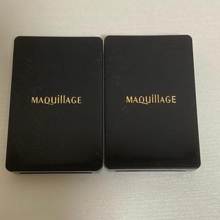 マキアージュ(MAQuillAGE)の新品 マキアージュ リキッドファンデーション スポンジ パフ(パフ・スポンジ)