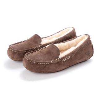アグ(UGG)のUGG、ANSLEY、チョコレート、23(ローファー/革靴)