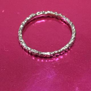 カオル(KAORU)のKAORU カオル スパークルリング 指輪 美品(リング(指輪))