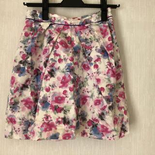 デイシー(deicy)のdeicy 花柄 スカート(ミニスカート)