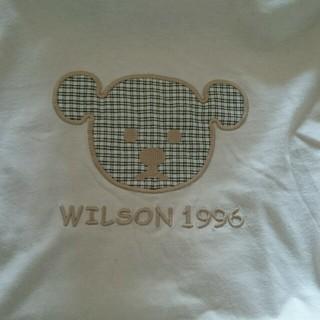 ウィルソン(wilson)のみーこ様専用 ウィルソンベアー長袖とcourregesインナー(その他)