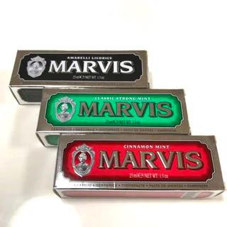 マービス(MARVIS)のマービス MARVIS 歯磨き粉 3本(歯磨き粉)