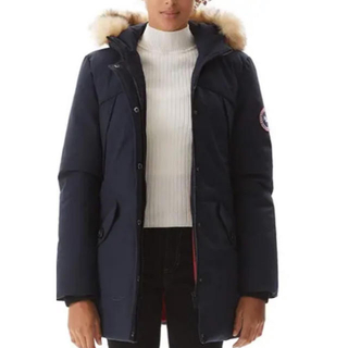 PUREMSX Women's Overcoat 濃紺コート(ナイロンジャケット)