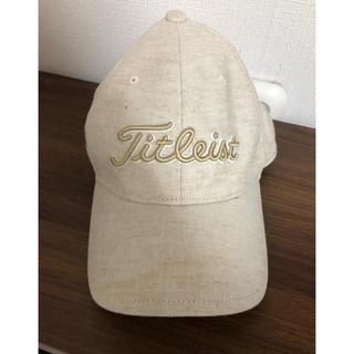 タイトリスト(Titleist)のキャップ帽(キャップ)