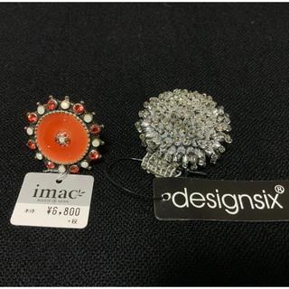 ツモリチサト(TSUMORI CHISATO)のリング イマック デザインシックス 指輪 新品(リング(指輪))