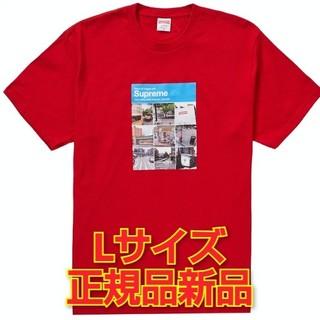 シュプリーム(Supreme)のSupreme Verify Tee Red L(Tシャツ/カットソー(半袖/袖なし))