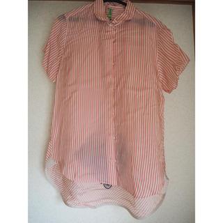 サカイ(sacai)のsacai刺繍入り半袖シャツ(シャツ/ブラウス(半袖/袖なし))