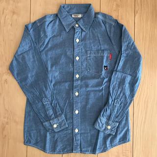 ダブルビー(DOUBLE.B)のミキハウス ダブルビー ダンガリーシャツ 150(その他)