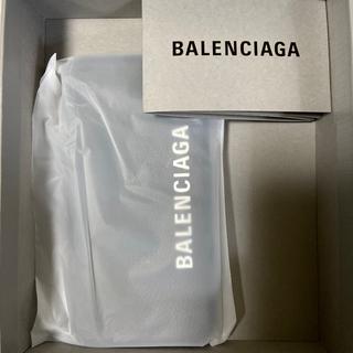 バレンシアガ(Balenciaga)の最安値!BALENCIAGA iPhoneX/XS スマホケース 未開封!!(iPhoneケース)