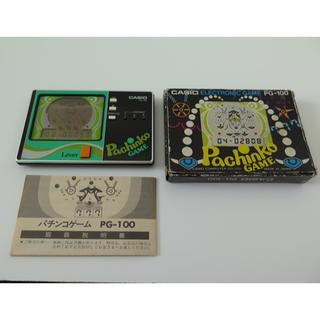 カシオ(CASIO)のCASIO カシオ パチンコゲーム LCDゲーム 1983年製(携帯用ゲーム機本体)