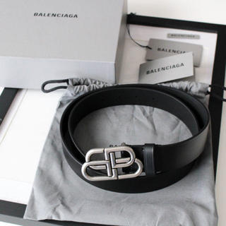 バレンシアガ(Balenciaga)のゆ様専用新品 BALENCIAGA BBレザーベルト(ベルト)