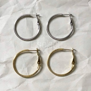 ジャーナルスタンダード(JOURNAL STANDARD)の280.stainless skinny hoop pierce【gold】(ピアス)
