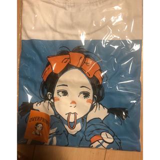 カーハート(carhartt)のover print 古塔つみ POP art T 9090 青 M(Tシャツ(半袖/袖なし))