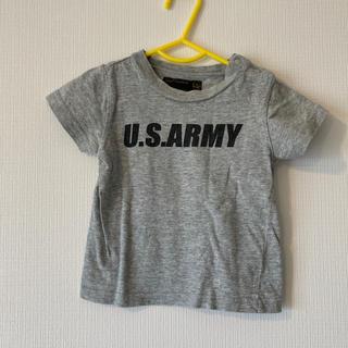 マーキーズ(MARKEY'S)のマーキーズグレーアーミーTシャツ80(シャツ/カットソー)