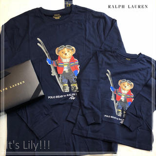 ラルフローレン(Ralph Lauren)の大人もok ラルフローレン  メンズ s 相当 ポロベア ネイビー ロンt(Tシャツ/カットソー(七分/長袖))