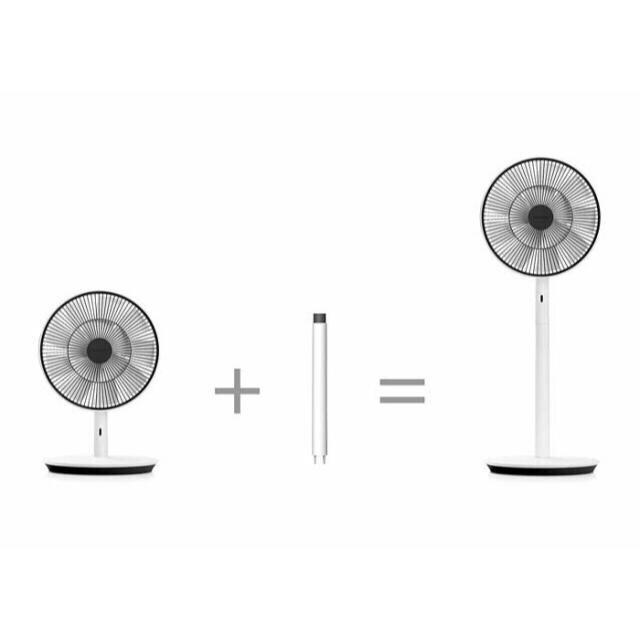 BALMUDA(バルミューダ)のBALMUDA/バルミューダ EGF 1600 スマホ/家電/カメラの冷暖房/空調(扇風機)の商品写真