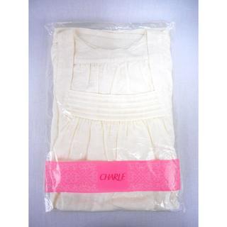 シャルレ - 未開封 シャルレ ガーゼ素材で優しい肌触りの涼やかナイティ EB755