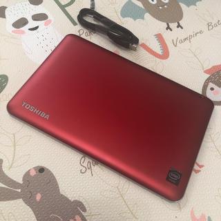 トウシバ(東芝)の*美品*東芝 Androidタブレット A204YB レッド(タブレット)