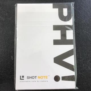 トヨタ(トヨタ)のトヨタ PHV ショットノート Mサイズ ノベルティ(ノベルティグッズ)